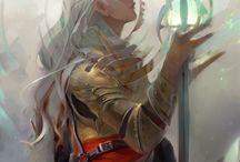 personagem - medieval