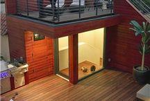 4층 옥상정원 조경