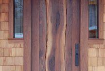 Puertas d madera