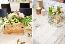 Rustic Wedding / Millbrook Winery wedding, rustic french vintage wooden crates with Peonies, rustic table runners, wood log tealight candles, jam jars, mason jars with flowers,