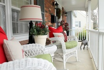 Welcome Home - my front porch / by Dena McCathren