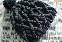 czapka druty