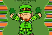 St. Patrick's Day Counseling Activities