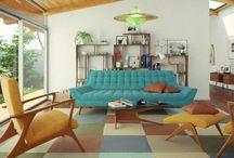 Midcentury decor
