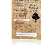 """Inspiratiebord Trouwen in het bos / Inspiratiebord passend bij trouwkaarten in het thema """"wedding in the wood/trouwen in het bos"""""""