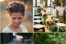 "Weddings | Inspiration Boards / ""Bride: A woman with a fine prospect of happiness behind her."" - Ambrose Bierce"