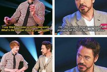 Tonny Stark/ Robert Downey Jr.
