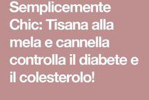 Tisana Mela e Cannella  per abbassare Colesterolo Diabete