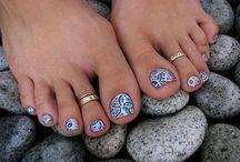 Cute Toe Nail Designs 2013