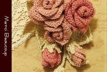 λουλούδια πλεκτά με βελονάκι