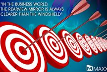 Quotes / In the Business world,  the rearview mirror is always  clearer than the windshield