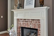 Fireplaces / Gather around the fire with the family to stay warm and bond on cold, winter nights!