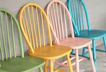 sillas y mesa cocina