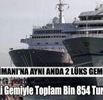 Alanya Limanına 2 Lüks Gemi Giriş Yaptı