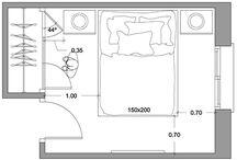 medidas habitaciones, bañis