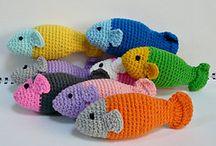 Bermeo urban knitting ( fish / peces )