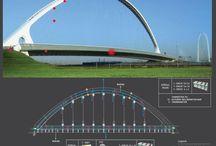 Bruggen & monitoring gedrag / Bruggen en conditie monitoring van betonnen en stalen bruggen in Nederland en Belgie