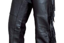 Chaps Women's Motorcycle Chaps / ALLSTATE LEATHER : Womens Chaps : Motorcycle sold at Daemon's Boots and Shoes http://www.srethng.com/al_womens_chaps.php
