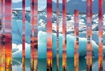 Digital Collage Landscapes