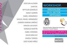 """I Exposición de artesanía """"Workshop. Innovación en el sector artesanal"""" 2013 / El curso """"Workshop. Innovación en el sector artesanal"""" es un proyecto organizado por el Cabildo Insular e impartido por el Estudio Ochoa y Díaz Llanos, con el fin de aportar nuevas herramientas creativas y métodos de trabajo para la elaboración de productos artesanos innovadores y competitivos. Poniendo el énfasis en la parte práctica, han sido 13 los artesanos seleccionados que han participado en esta primera edición.   Fecha exposición: 7 al 14 de junio, 2013 (Sala Bronzo-La Laguna)"""