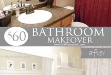 Bathroom do overs / by Valerie Willardson