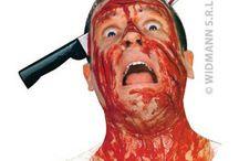 Armes Halloween - Faux couteaux ensanglantés