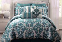 Will you make you bed now? / Bedding that will make me want to make the bed in the morning. / by At My Counter the Blog