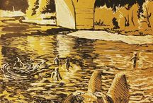 my work Cooling down in the river #drawing #ink #inktober #sketch #dordogne #france #summer