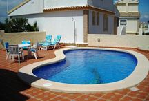 OUR VILLAS - PRIVATE POOLS / A selection of our lovely holiday villas in Gran Alacant, Alicante, Spain with private pools