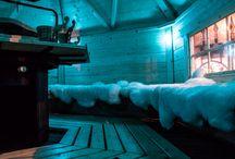 Laponia / Świecąca kostka brukowa LED Qube