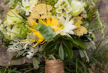Bouquets and Boutonnieres / Photos taken at Hightower Falls as well as other inspiration