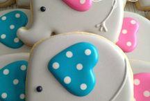 Elephant cookies / by Rosa M Fernández