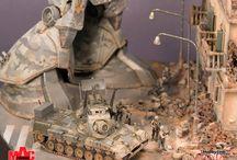 gundam diorama