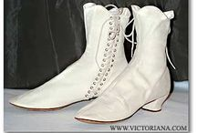 victorian shoes / Shoe styles from the victorian era