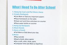 schedule for kids at home