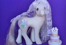 My little pony vintage  '90 '80