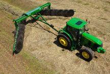 Raking Hay & Forage / Raking all types of hay & forage