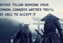 samurai&discipline