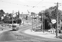 Bendigo Trams / Trams began in Bendigo in 1890. Like Ballarat, the system was taken over by the Electric Supply Company of Victoria, and then later the SEC. The system closed in 1972.