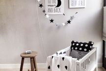 * DECO * Black and White Kid Bedrooms