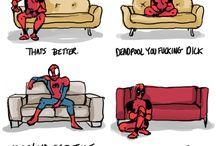 Deadpool x Spidey