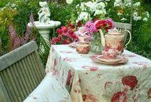 L'heure du thé en angleterre