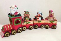 trenes navideño s