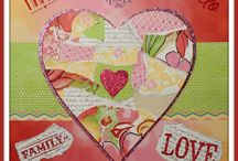 Home Decor Using Paper / Ideas to decorate your home using Close To My Heart papers, cardstock, Cricut cartridges.