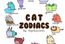 Cat Horoscope Mugs