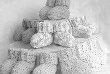 Chaussettes bébé - crochet
