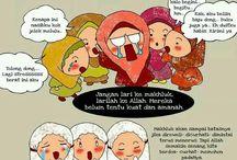 cartoon muslim