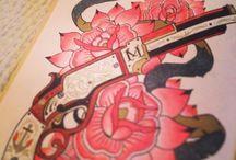 Coloring: Megamunden tattoo