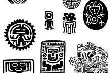 símbolos precolombinos