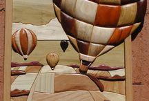 Wood Craft - Intarsia Art